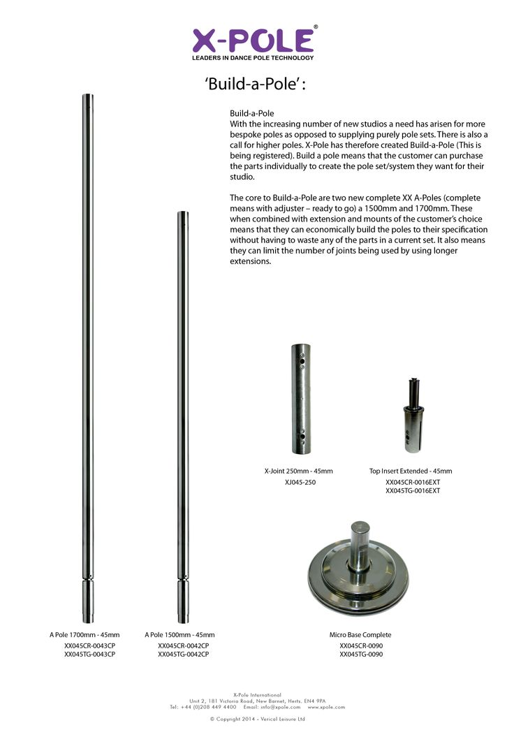 """Build-a-pole"" another X-Pole 1st!"