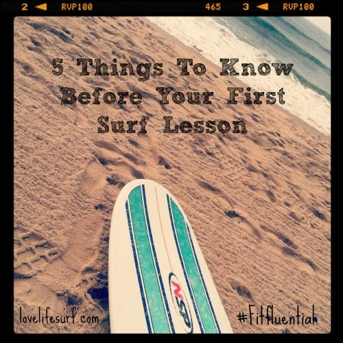 5 things you need to know before your first surf lesson