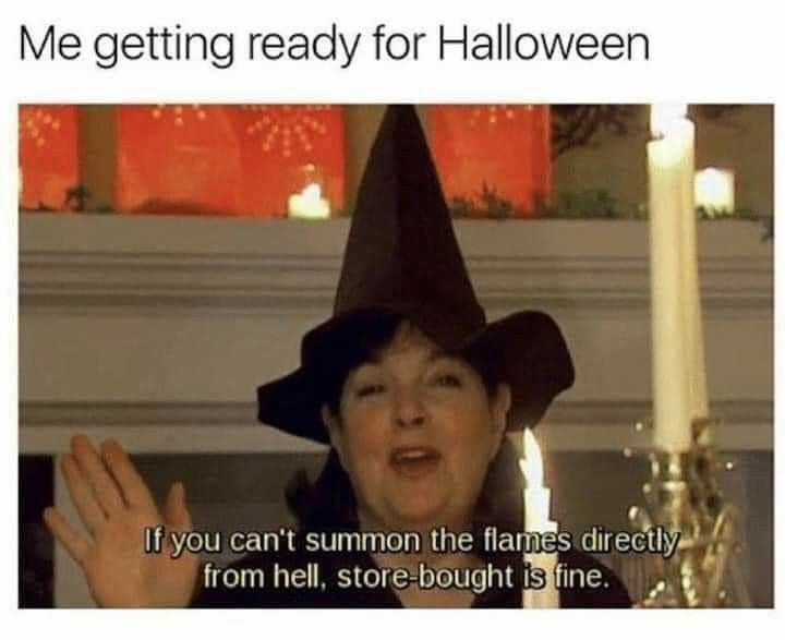 Pin By Stacie Schlesinger On Halloween Funny Halloween Memes Halloween Jokes Halloween Memes