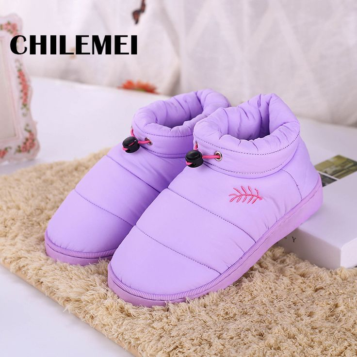Cheap slippers wedge, Buy Quality slippers fluffy directly from China slipper buyer Suppliers: outside slipper for women flat waterproof feather cloth soft and comfortable for wainter shoes more warm flamel fabrg non slip