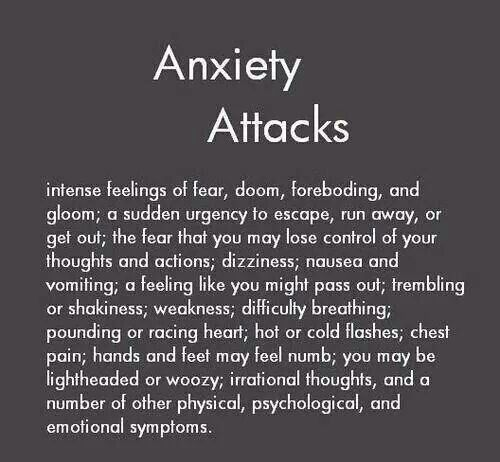 I don't know but there's a noticible difference between a panic and anxiety attack, I didn't even realise until I had them, it's more like anxiety attacks are just the feeling but a panic attack is the physical reaction?