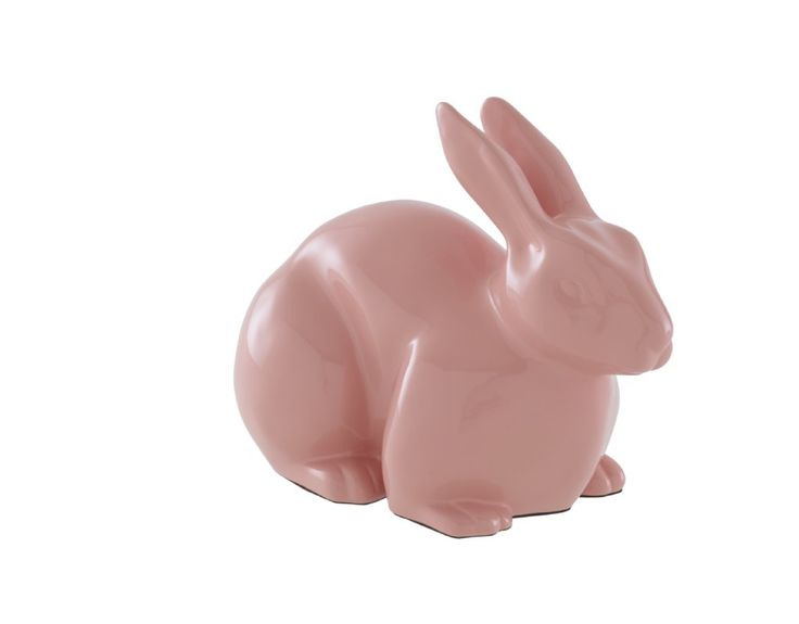 PAN PAN decorative rabbits in moulded resin by B.Kuehne-Thompson @ £98 will add a fun finishing touch to any room. Available in mastic, pink and turquoise. Why not collect all three?