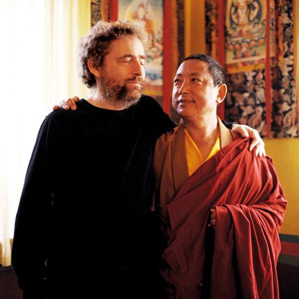 Philippe Rykiel & Lama Gyurme ©fabienlemaire #boudhism #namaste #moine #monk