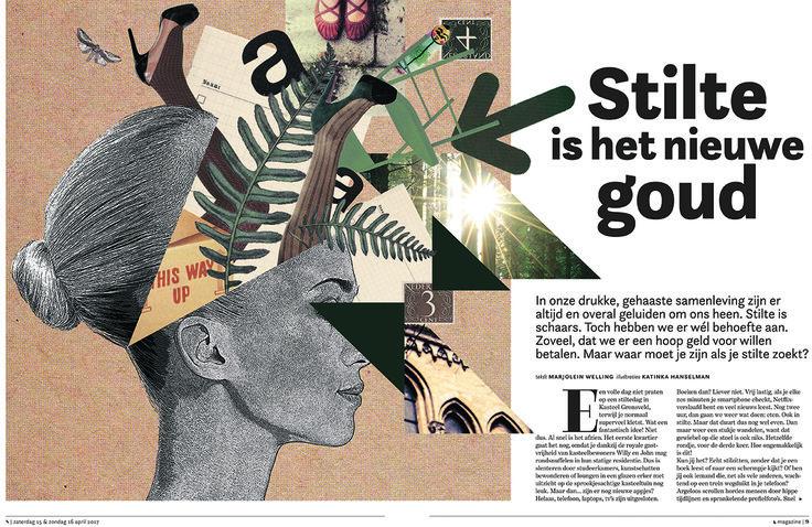 L-magazine van De Limburger, 15-05-2017, 'Stilte is het nieuwe goud'