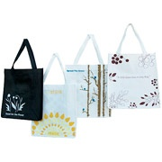 Walmart.com Product:  Set of 5 Eco-Friendly Oversized Reusable Grocery Totes  Go Green with this Set of Eco-Bags.  These reusable grocery bags are Earth Friendly because they replace the old habit of wasting paper and plastic bags on a daily basis  #WalmartGreen