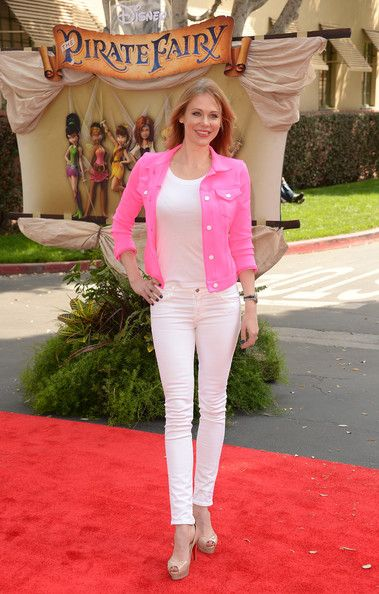 """Maitland Ward attends the premiere of DisneyToon Studios' """"The Pirate Fairy"""" at Walt Disney Studios on March 22, 2014 in Burbank, California."""