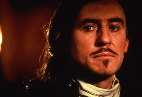 Gabriel Byrne as D'Artagnan in The Man in the Iron Mask