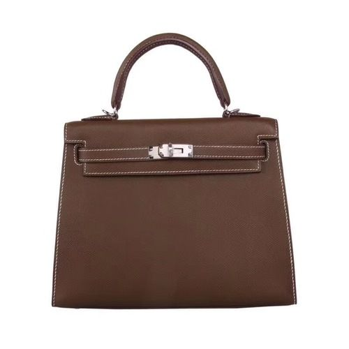 Hermès Gold Kelly 25 Epsom Leather Palladium Hardware for sale at http   www a527c15f70fe3