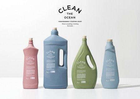 바다를 더럽히는 주된 범인이 썪지 않는 플라스틱입니다.   그런 수많은 플라스틱을 대신할 자연 생분해되는   용기 디자인입니다.     Designed by KOREFE. Kolle Rebbe Form und Entwicklung