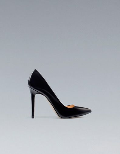 SALÓN TACÓN PIEL - Zapatos - Mujer - ZARA España