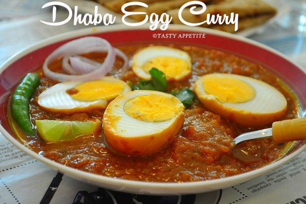 Dhaba Style Egg Curry / Spicy Egg Curry / Punjabi style egg curry recipe | Tasty Appetite
