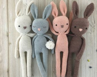 Bunny Made To Order Crochet Bunny Mama And By Unepelotedelaine