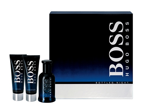 Boss Bottled Night 100ml eau de toilette gift set