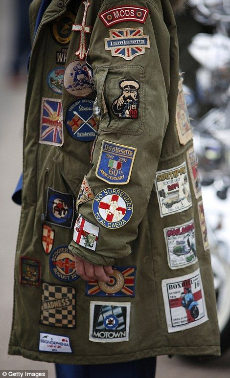 Veterans return for a nostalgic day out more than 50 years after the Mods fought the Rockers on Brighton seafront |