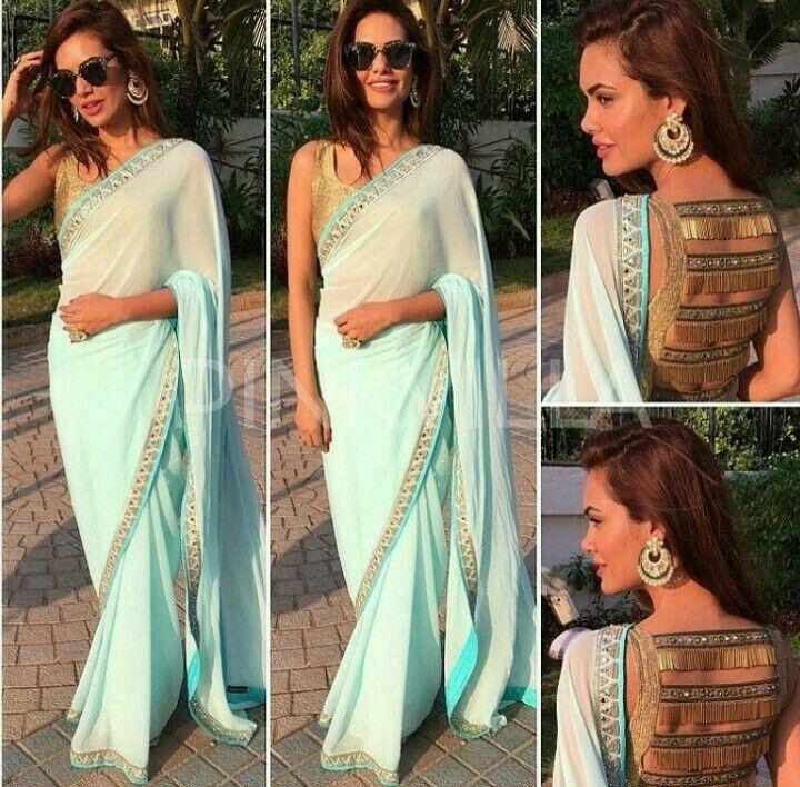 Esha Gupta wearing Arpita Mehta❤