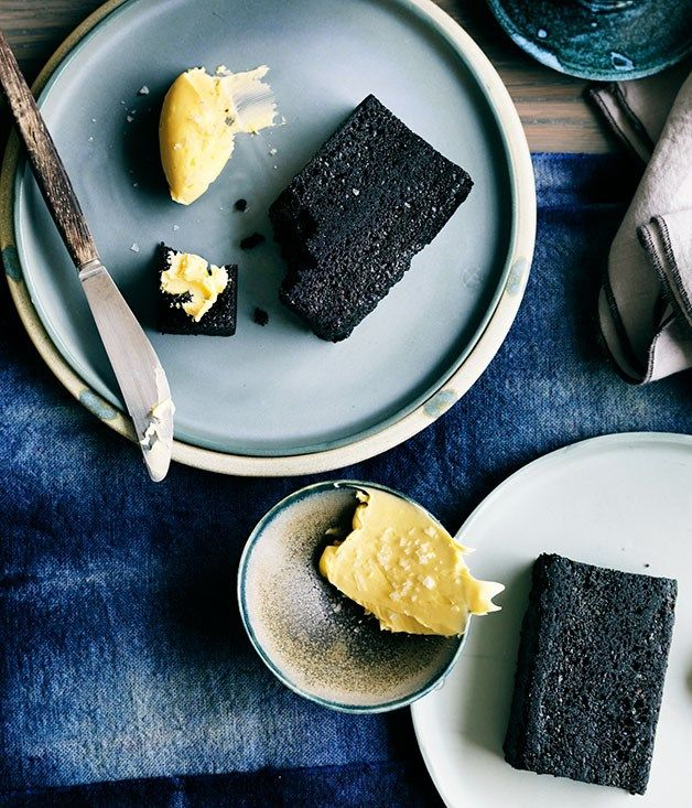 Liquorice bread recipe, Yellow, Sydney :: Gourmet Traveller