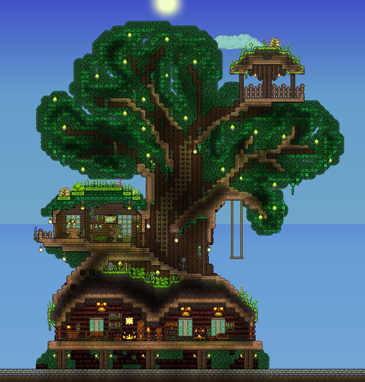 86bad6e8860d056aeb27b075fe3fa458--starbound-treehouse Starbound Simple House Designs on terraria house designs, minecraft simple house designs, starbound ship designs,