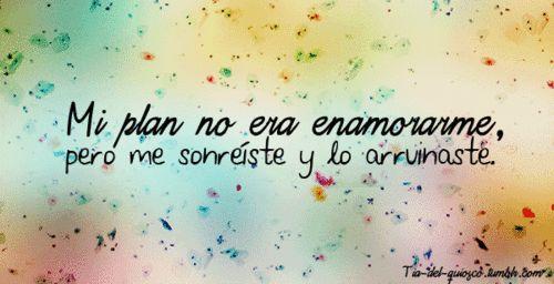 Resultado de imagen para frases cortas de amor tumblr en español