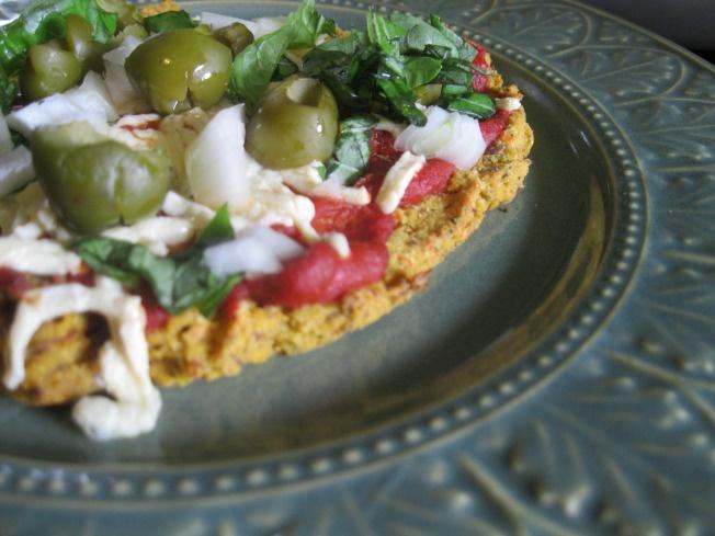 juicer veggie pulp pizza