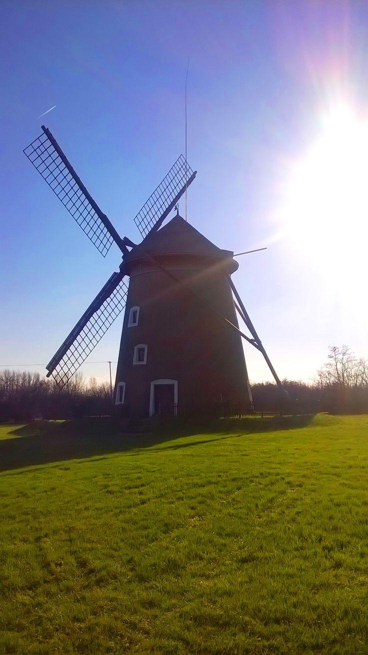 Windmill in Hungary
