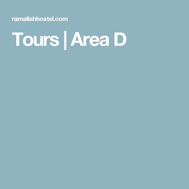 Tours | Area D