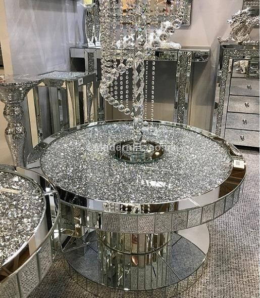 Crushed Diamond Mirrored Coffee Table: Best 25+ Mirrored Coffee Tables Ideas On Pinterest