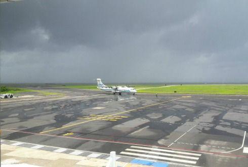 Aeropuertos en buenas condiciones tras el paso de 'Lidia' - NTR Guadalajara