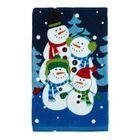 Snow Family Whimsical Kitchen Towel