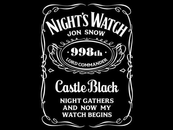 Night's Watch whiskey, by Satansbrand