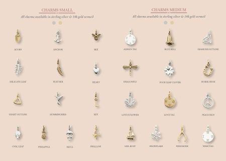 hardtofind.   Bespoke sterling silver letter, charm & gemstone necklace