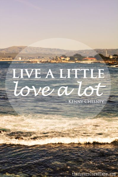 live a little...love a lot