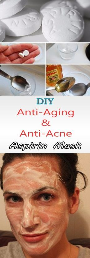 aspirin face mask   The Secret Ingredient of All Anti-Wrinkle Masks – Aspirin! (Recipes)