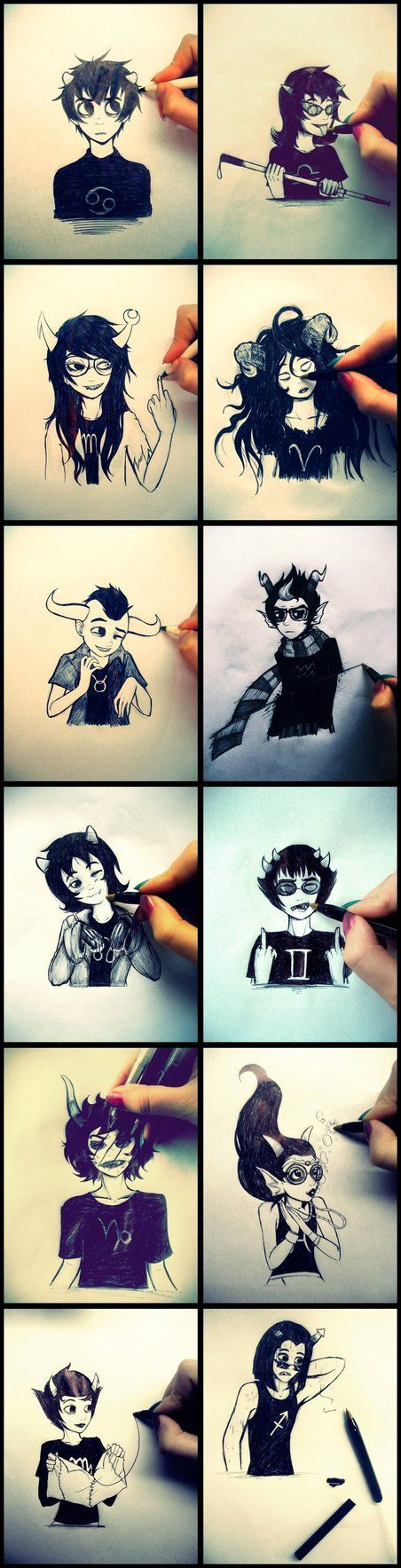 Homestuck - Playing with trolls c: by MelSpontaneus on deviantART