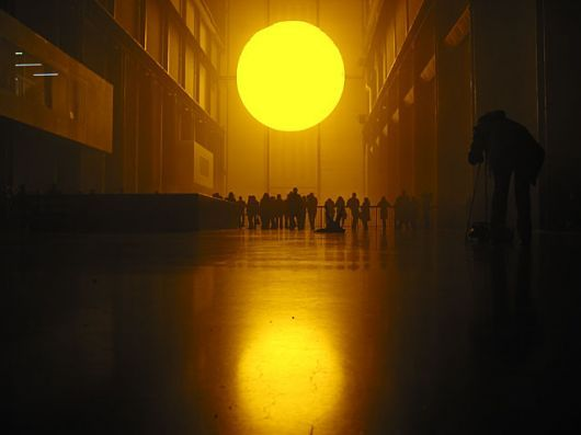 """Weather Project"" - Olafur Eliasson"