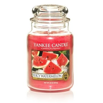 This is one of my favorite scents...it smells like a watermelon Jolly Rancher! #YankeeCandle