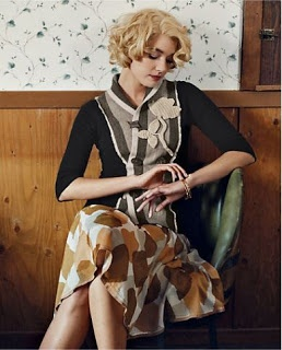 From my very first Anthropologie catalog ~ June 2007!