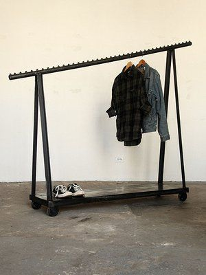 Fancy   Clothing Rack On Casters | Strawser U0026 Smith