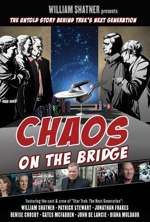 Watch William Shatner Presents: Chaos on the Bridge Online | Vimeo On Demand