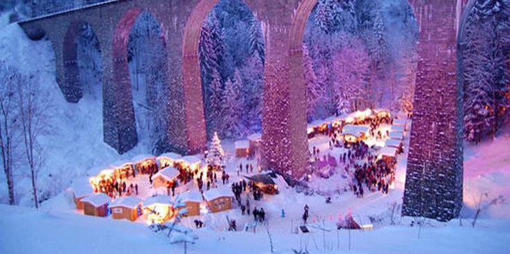 Adventwanderung durch die Ravennaschlucht zum Weihnachtsmarkt   Hochschwarzwald Tourismus GmbH