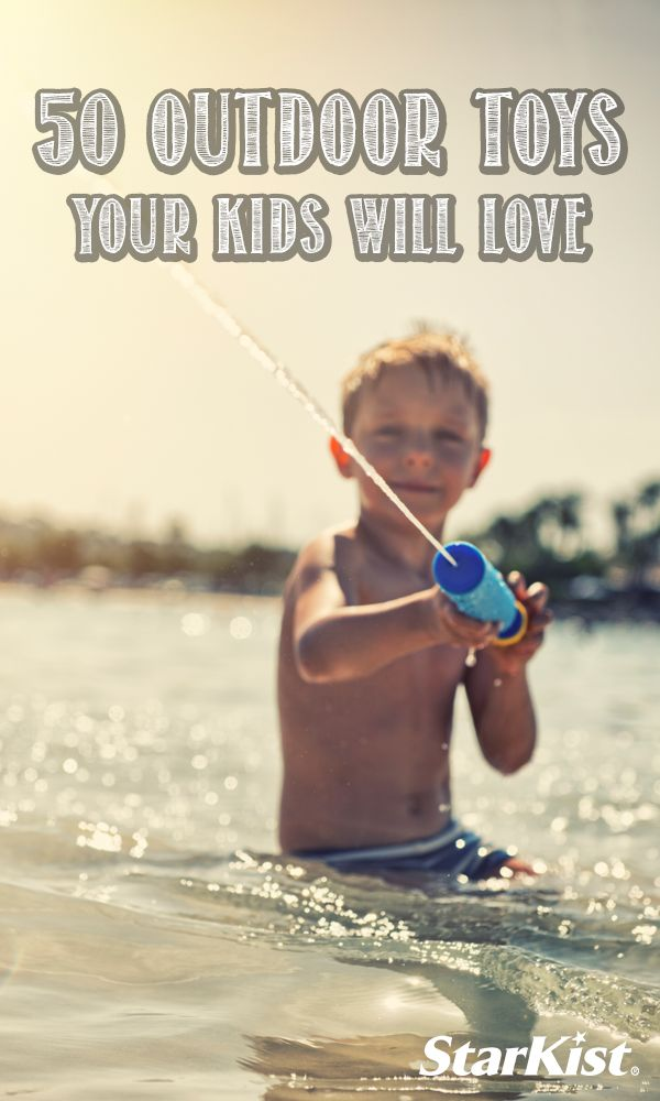 Check out these fun outdoor toys that will be a blast for your kids this summer.