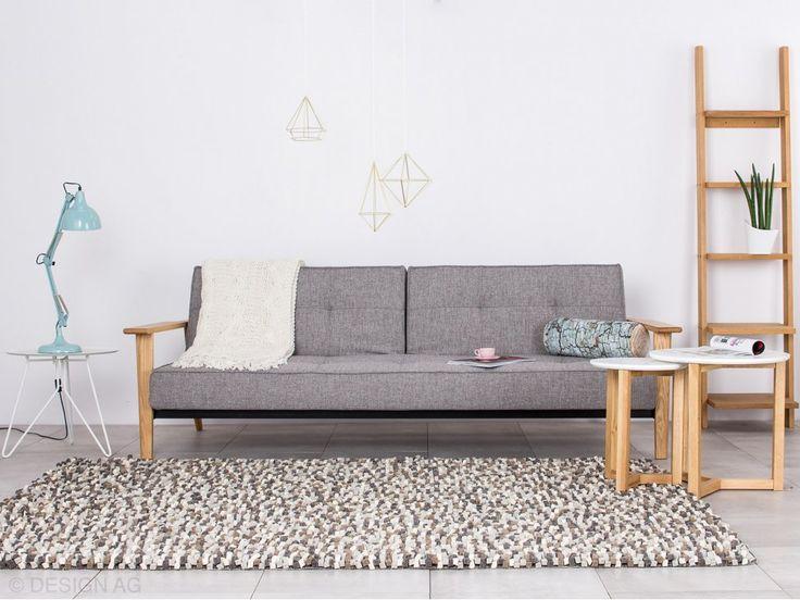 Dywan Crush Szary 140x200 cm — Dywany Linie Design — sfmeble.pl