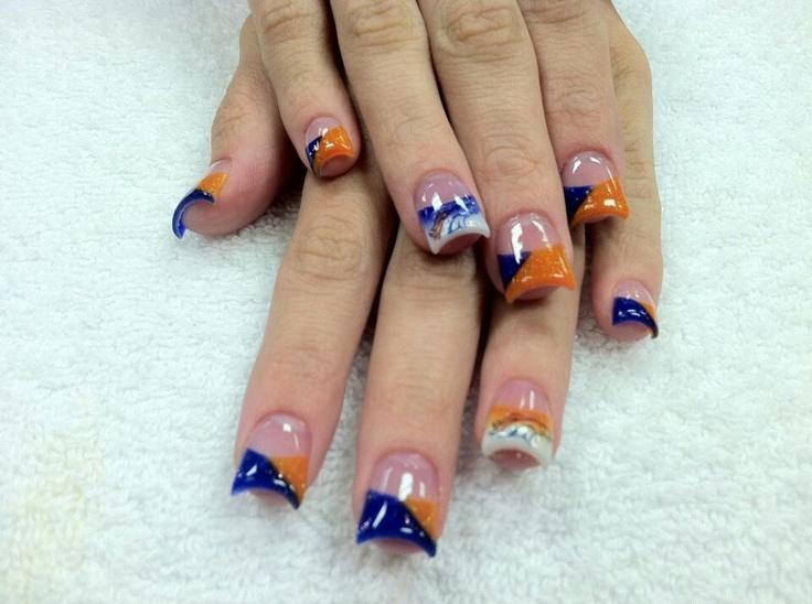 23 best denver broncos images on pinterest denver broncos nails bronco nails prinsesfo Image collections