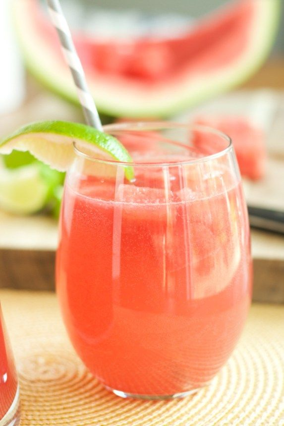 Watermelon Sangria- A perfect summertime cocktail! You will fall in love with this fresh sangria recipe. Great for parties or just a small girls night!