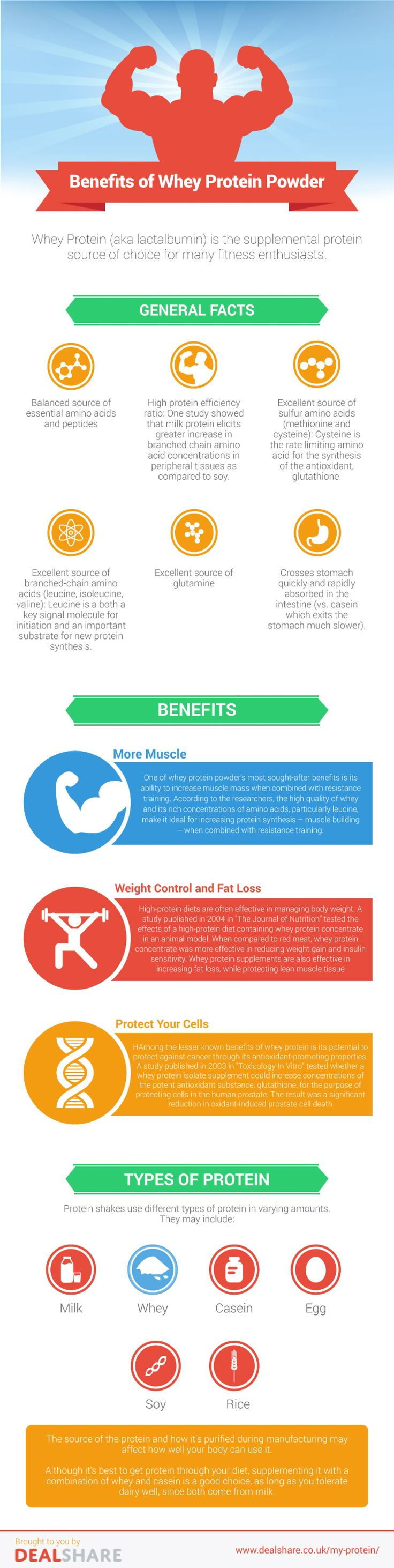 Benefits of Whey Protein Powder Infographic... https://topwheyproteinpowder.jimdo.com/