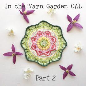 In the Yarn Garden: In the Yarn Garden CAL - Part 2, rounds 11-19