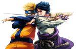 Naruto Vs Sasuke render-AsadaShino by Asada-Shino