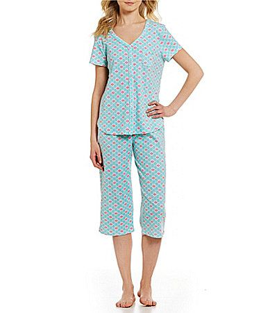 Karen Neuburger TilePrint Pajamas #Dillards