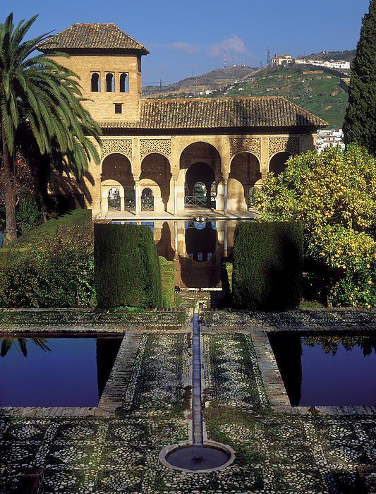 Alhambra, Granada, Spain...Oh, how I enjoyed strolling through these gardens!