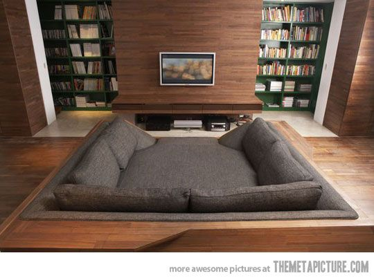 Homebed Theater - Absolutely need one of these!!!