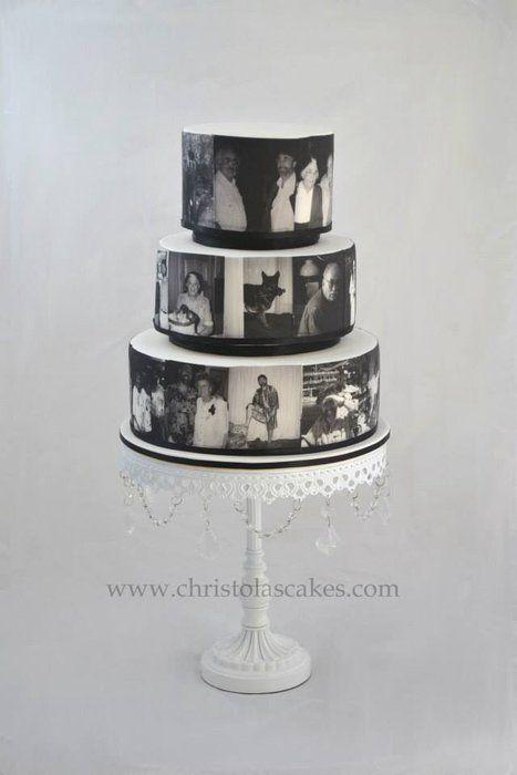 Mens 60th Birthday Cake - by ChristolasCakes @ CakesDecor.com - cake decorating website
